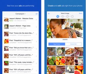 Ứng dụng quảng cáo Facebook